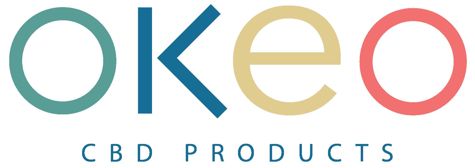 OKEO logo letters