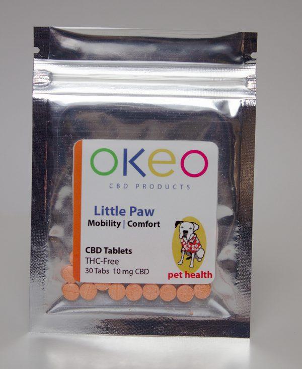 Okeo Little Paw front