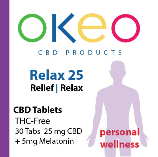 Okeo Relax front label